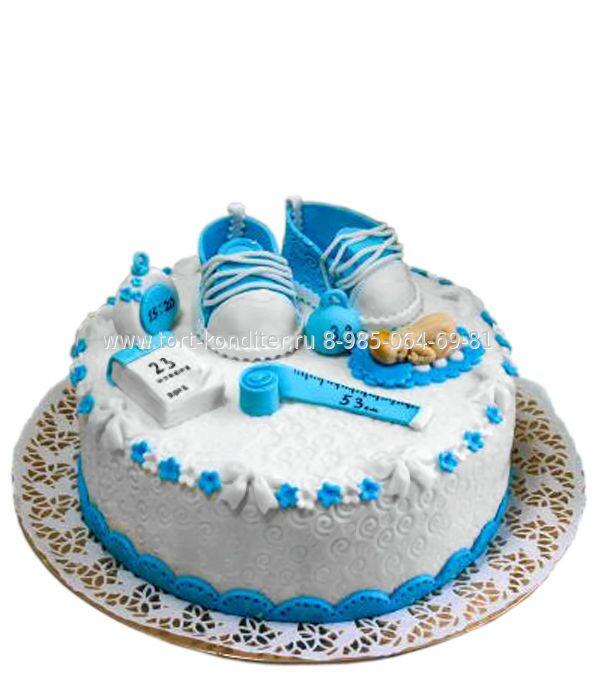 торты на день рождения фото мальчику на годик