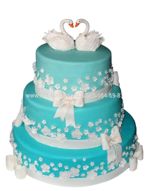Недорого торт на свадьбу