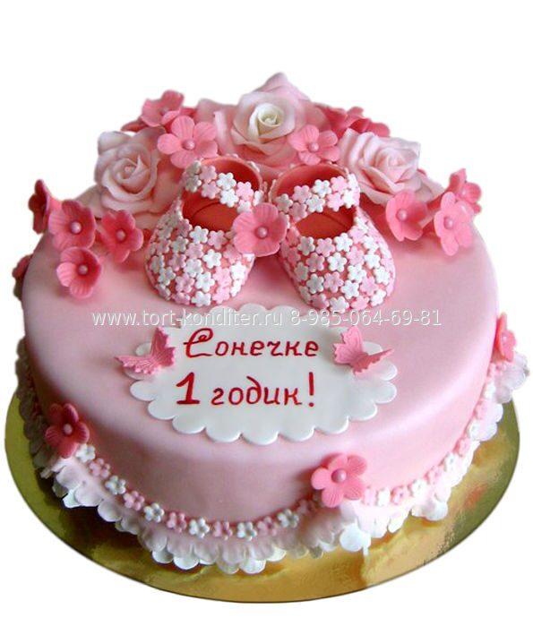 должен подходить красивый торт на годик девочке фото после духи
