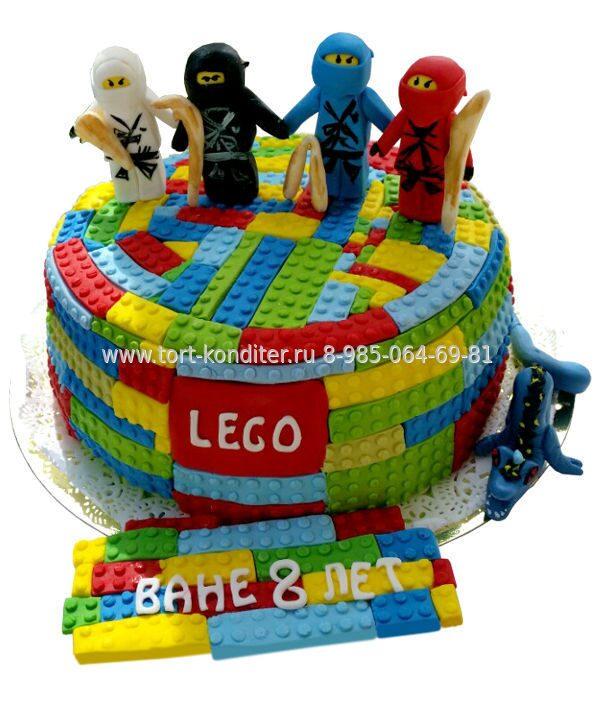 097eb4bae Торт Лего Ниндзяго | Детские торты на заказ в Москве недорого.Торты ...